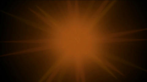 burn sun and fire at space,golden nebula and whirl... Stock Video Footage