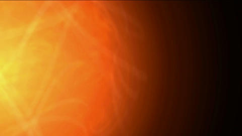 explosion sun and fireball in universe,golden nebula and... Stock Video Footage