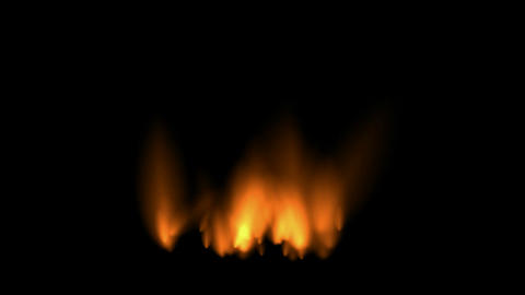 Fire,Oilfield,military war battlefield Stock Video Footage