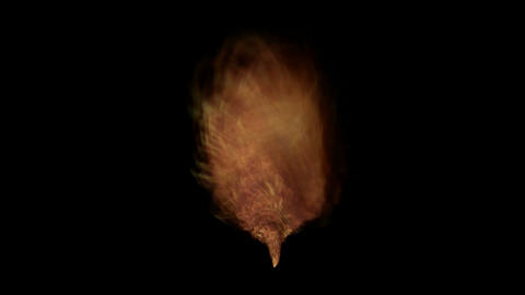 fire tornado,2012,end of the world,explosion,Volcanic... Stock Video Footage