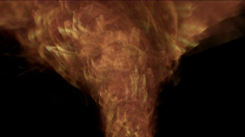 swirl fire tornado,2012,end of the... Stock Video Footage
