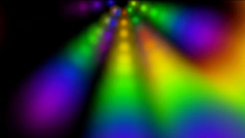 abstract rotation color ray light and smoke,disco neon... Stock Video Footage