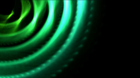 metal turbine tunnel hole,industry machine gear,energy tech background Animation