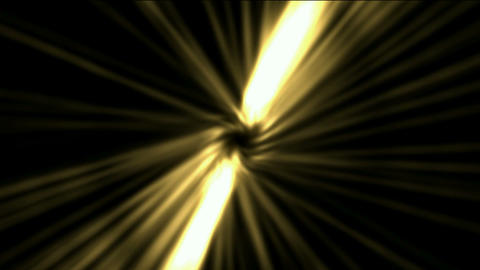 golden rotation ray light in space,The birth of stars,explosion.Dandelion,flowers,Game,Led,neon ligh Animation