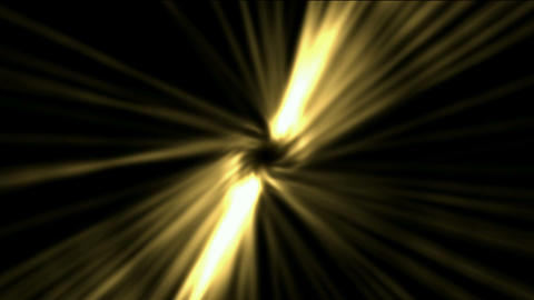 golden rotation ray light in space,The birth of... Stock Video Footage