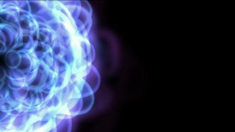 blue east lotus flower wedding background,ripple... Stock Video Footage