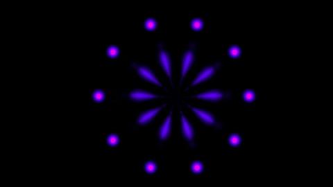 blue swirl fancy pattern,fireworks... Stock Video Footage