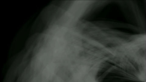 rotation smoke and cocoon fiber,spider silk,mist,cyclones Stock Video Footage