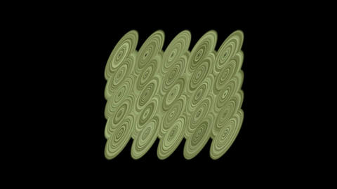 moving metal circle pulse,water ripple and cloud,eastern classical texture Animation