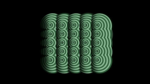 rotation circle ripple cloud pattern,Eastern classical... Stock Video Footage