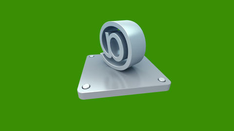 3d icons green 2 Animation