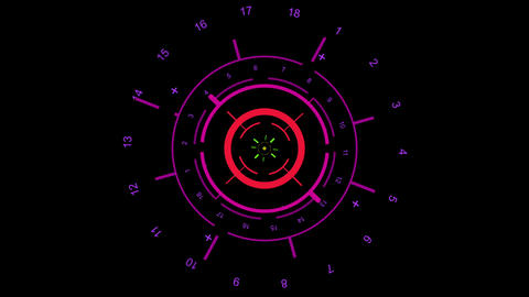 2d icon, sight and indicator Animation