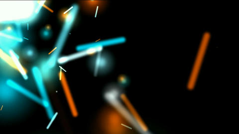 dazzling sticks & particle flying,swirl rays laser... Stock Video Footage