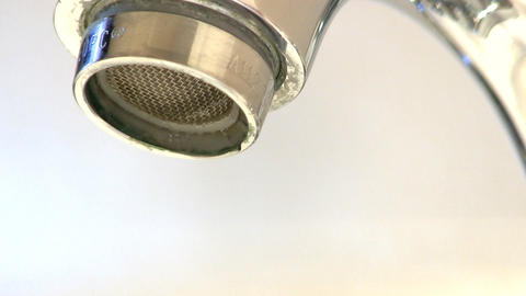 Leaky faucet tap macro; 6 Live Action