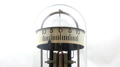 Vintage physics lab galvanometer; 2 Footage