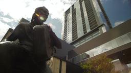 Willie Nelson Statue Footage