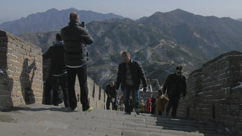 4K Great Wall of China Live Action