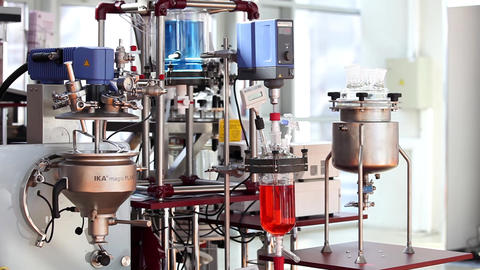 The IKA magic PLANT is a laboratory scale process plant for batch wise mixing an Live Action