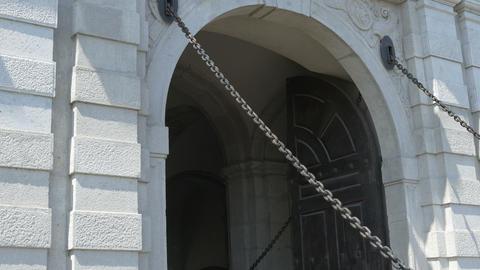 Chain Bridge on Citadel Gate Footage