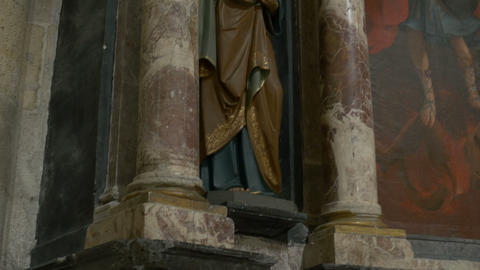 Statue of Saint Peter Footage