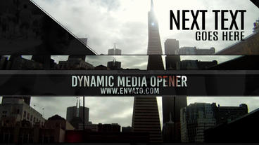 Dynamic Media Opener After Effects Template