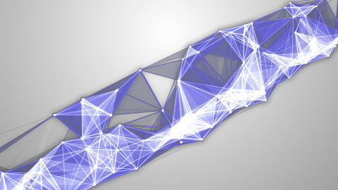 Blue-White Molecular Backgrounds Set