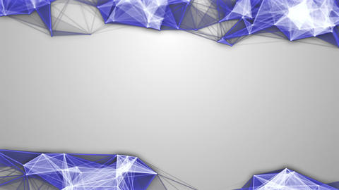 Blue-White Molecular Backgrounds Set 0