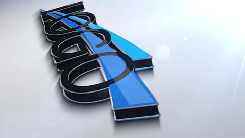 3D Logo animation After Effects Template