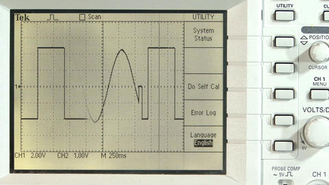 Periodic waveforms Footage