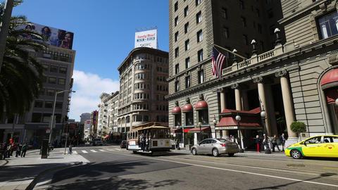 San Francisco street Footage