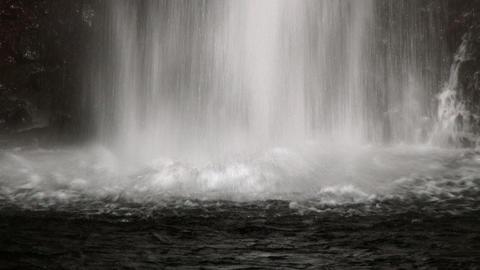 close up Shiraito Falls Footage