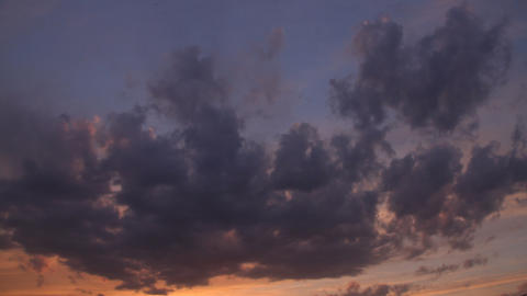 Sunset Cloud Time Lapse Footage