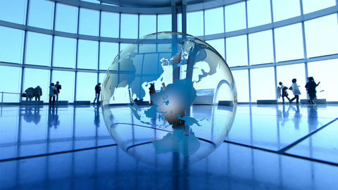 Earth Rotating, The World Spinning stock footage