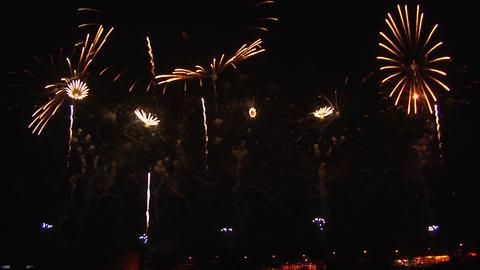 Beautiful Japanese huge Fireworks Footage