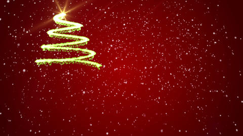 Merry Christmas background red backgrounds Footage