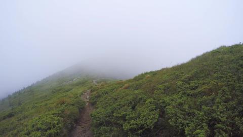 Cloud Mountain Landscape stock footage