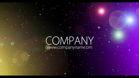 Title Intro. Flying Through The Stars And Planets After Effects Template