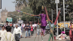 Indian Tightrope Walker
