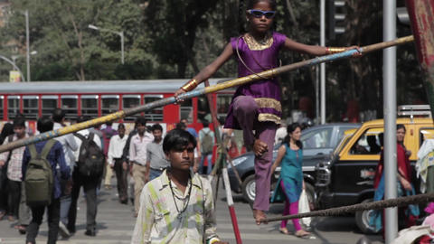 Indian Tightrope Walker 0