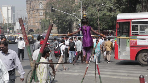 Indian Tightrope Walker 1