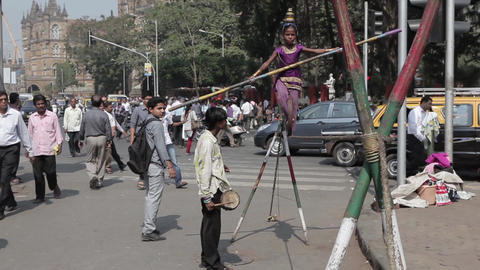 Indian Tightrope Walker 2
