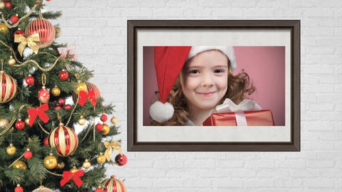 Christmas Photo Album After Effects Template