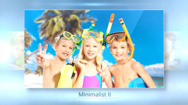 Minimalist II - After Effects Template After Effects Template