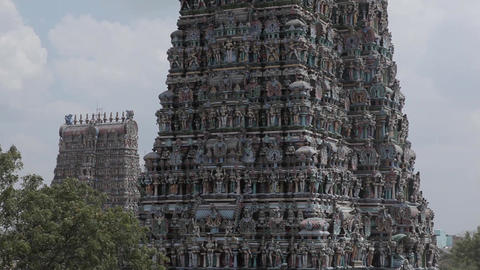 Meenakshi Amman Temple In Madurai India 1