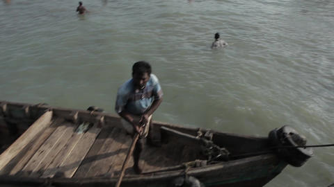 Indian Fishers On Boats India 2