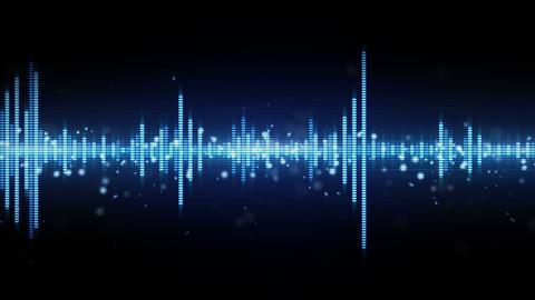 audio waveform equalizer seamless loop 4k (4096x2304) Animation