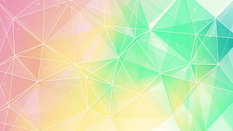 delicate color triangles web pattern loopable 4k (4096x2304) Animation