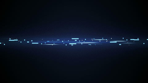 blue technology line loopable animation 4k (4096x2304) Animation