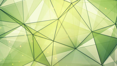 green triangles and lines pattern seamless loop Animation