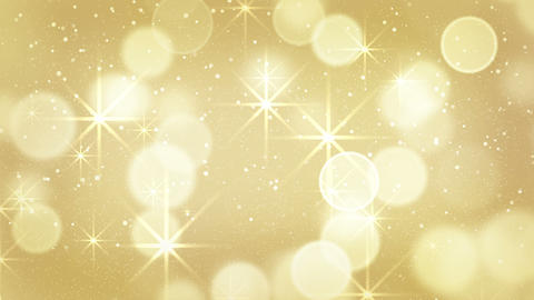 golden bokeh light loopable background 4k (4096x2304) Animation
